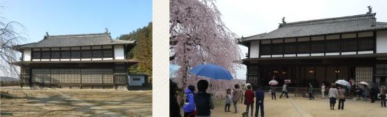 旧座光寺麻績学校校舎(通称:舞台校舎・県宝)