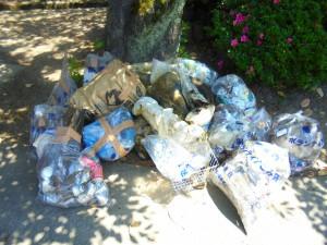 不法投棄されていたゴミの数々です。