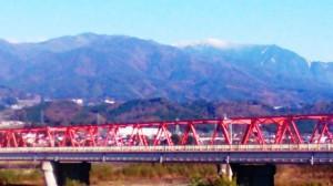 11-28天竜川からの駒ケ岳
