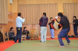 獅子舞練習3