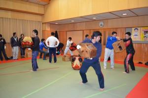 獅子舞練習2