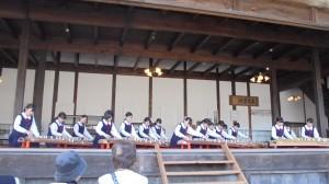 飯田女子高校邦楽部による演奏
