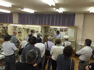 飯田市考古資料館にて