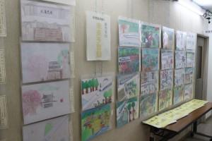 絵は**まで座光寺公民館で展示しております