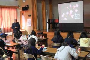 舞台桜の特徴について学習
